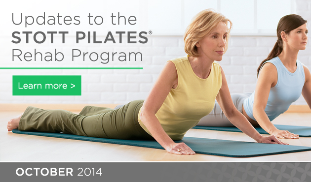 Updates to the STOTT PILATES® Rehab Program