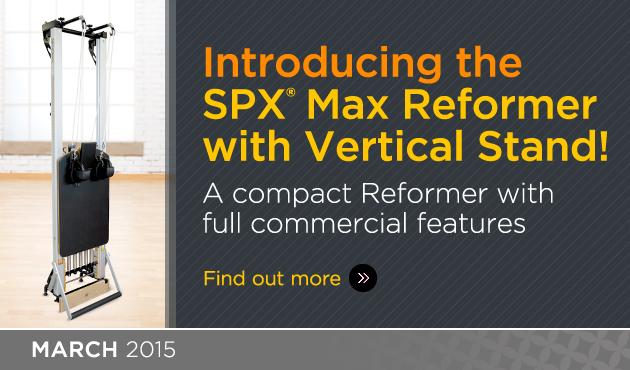 Introducing the SPX® Max Reformer with Vertical Stand