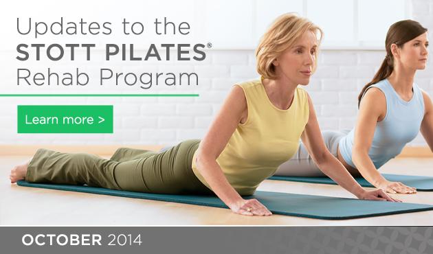 Updates to the STOTTPILATES® Rehab Program