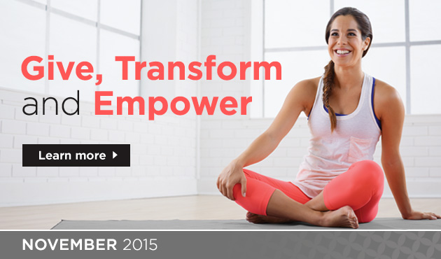 Give, Transform and Empower