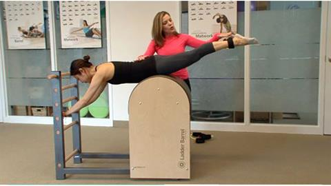 Exercise of the Month: Prone Series: Lower & Lift, Leg Circles & Scissors