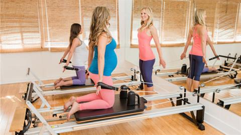Reformer Series: STOTT PILATES® for Expecting Mothers