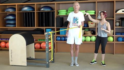 Exercise of the Month: STOTT PILATES® for Active Aging: Crabwalk