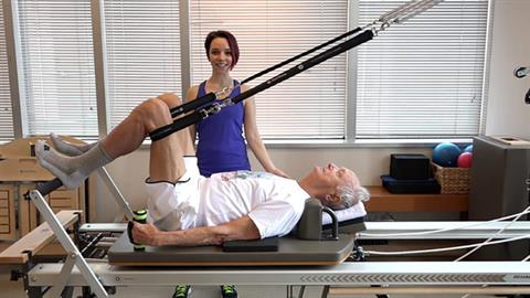 STOTT PILATES® for Active Aging: Footwork for Strength Training on the V2 Max™ Refomer