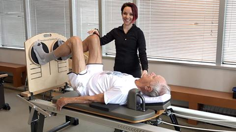 STOTT PILATES® for Active Aging: Windshield Wipers on Rotational Diskboard