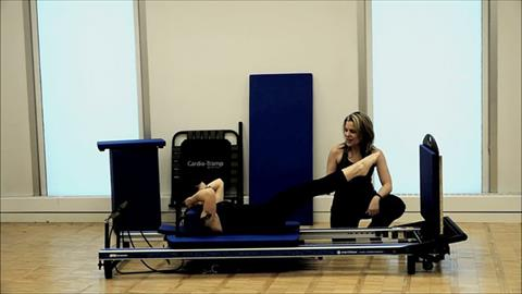 STOTT PILATES® At Home Cardio Workout Jump Series: Air Jacks, Tuck Jumps, Legs Straight to Ceiling