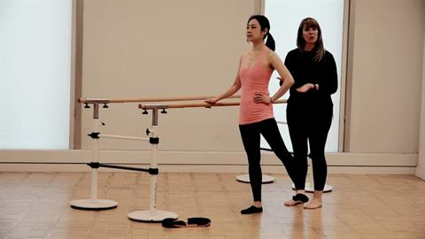 Exercise of the Month: Total Barre® for Dancers: Hip Abductors