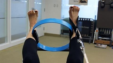 Spot the Difference: Fitness Circle® Flex Between the Lower Legs