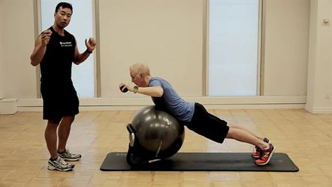 Exercise of the Month: STOTT PILATES® Rehab: Rotator Cuff