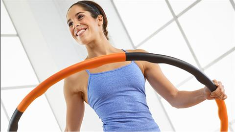 Sports Exercise Series - Hip Mobilization with Weighted Exercise Hoop