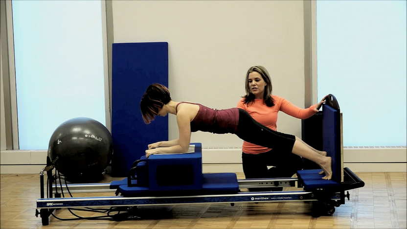 Athletic-inspired Moves: Forearm Plank with Long Box