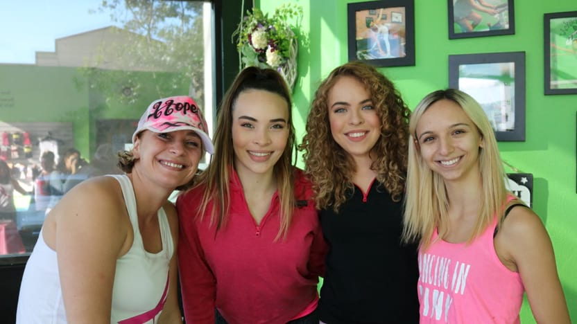 Wicked Pilates members at fundraiser
