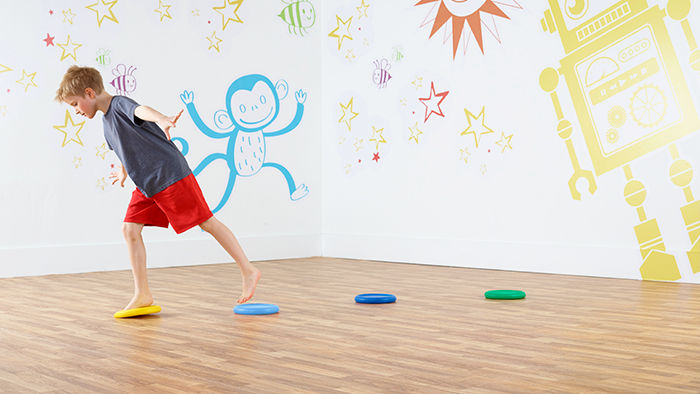 Kids Yoga Foam Disk