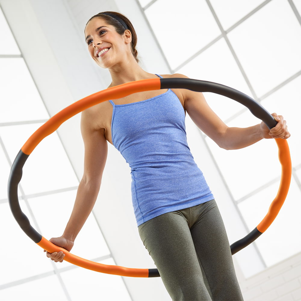 Hip Mobilization with the Weighted Exercise Hoop