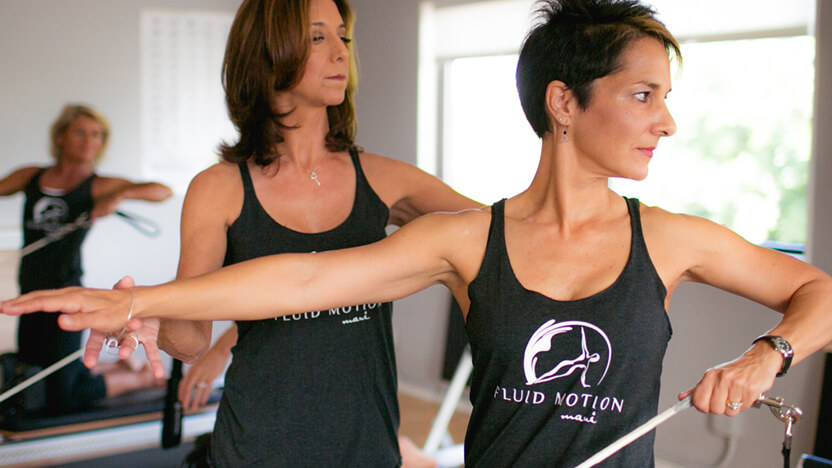 Merrithew education and training at Fluid Motion Maui