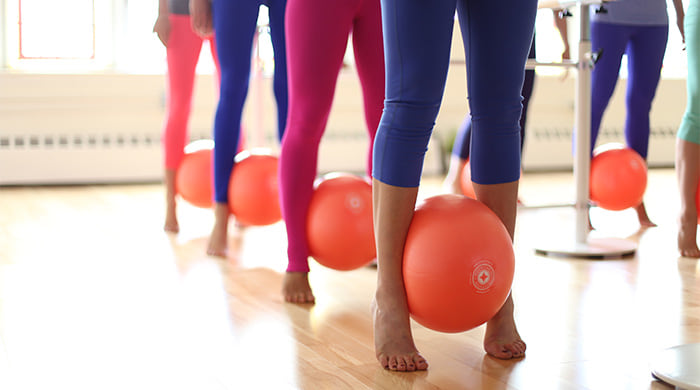 Is Total Barre hard on knees?