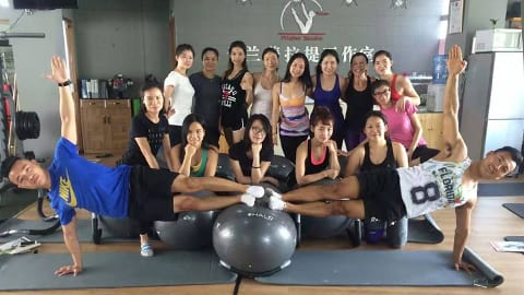 Yu Lan Pilates Studio team photo