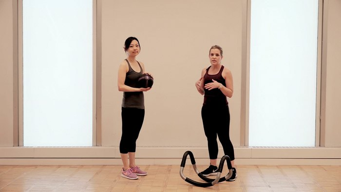 CORE™ for Weekend Warriors: Lunges with Medicine Ball
