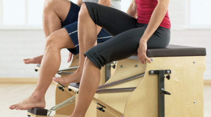 Exercise on the Pilates Chair