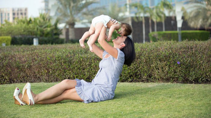 Working out with your baby