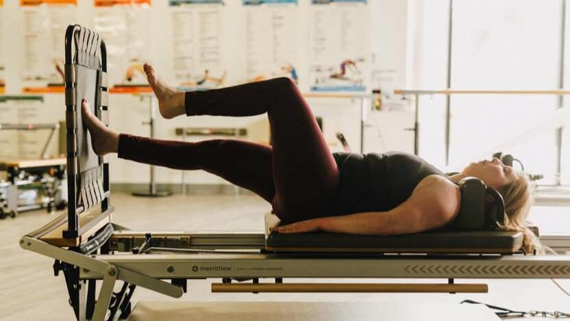Norah Myers on Reformer with Cardio-Tramp