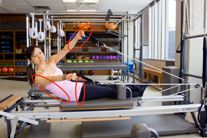 Obliques Exercise on the Reformer