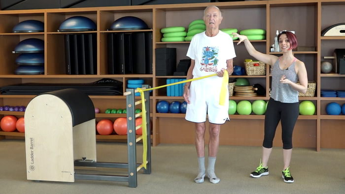 Video: STOTT PILATES® for Active Aging: Crabwalk