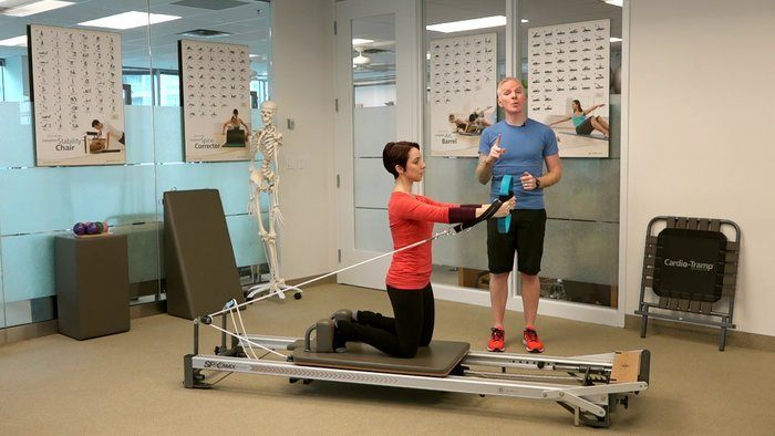 Runner Series: Chest Press with Squats and Rotation