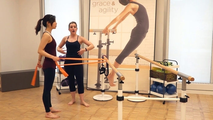 Exercise of the Month: Total Barre™ Arms, Triceps, Squats