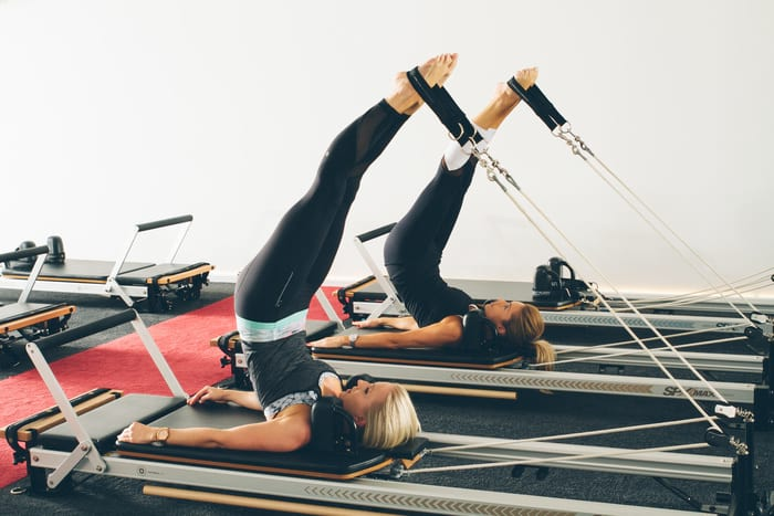 Long Spine on Pilates Reformer