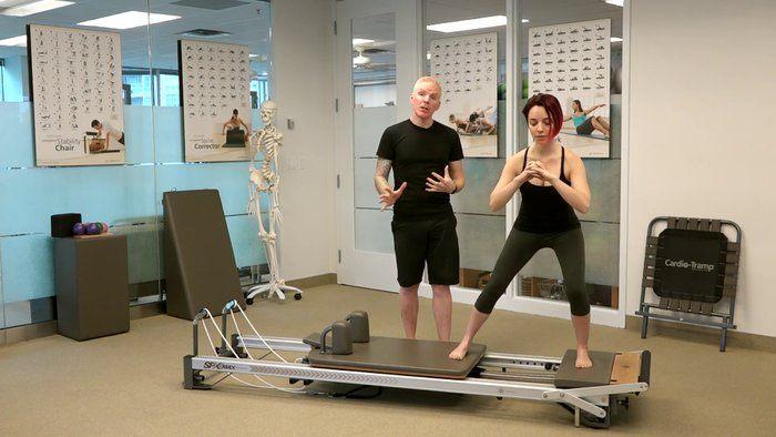 Runner Side Splits Platform Carriage Leg Presses