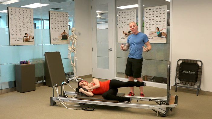 Runner Series: Side-lying Jump Series on the Cardio Tramp™