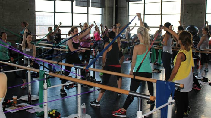 Total Barre at the Symposium
