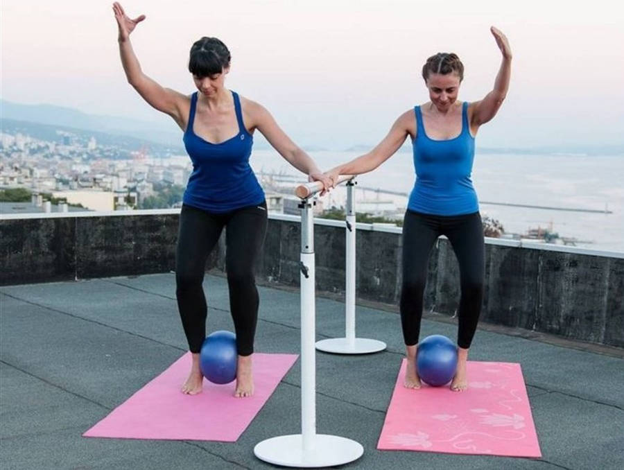 Total Barre™ rooftop workout!