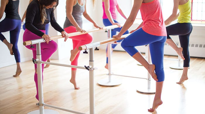 Total Barre ballet bar workout