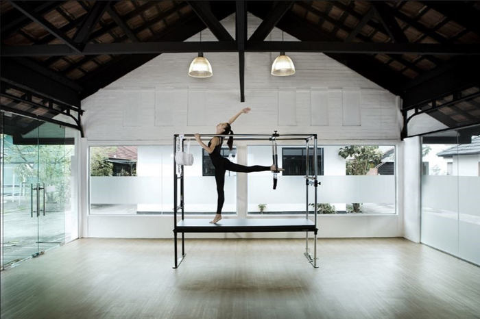 Upside Motion's Stunning Pilates Studio