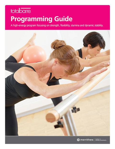 Total Barre - Program Guide