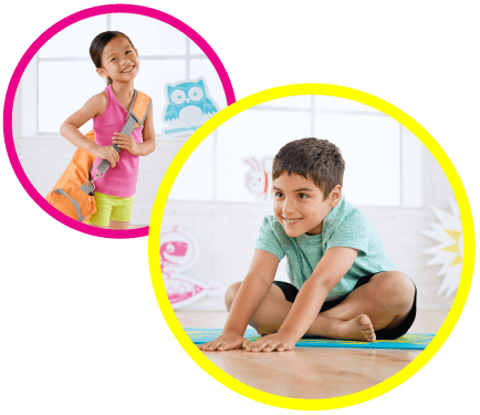 Eco-friendly kids fitness line