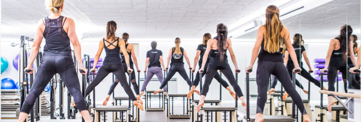 Solutions for Pilates and fitness businesses