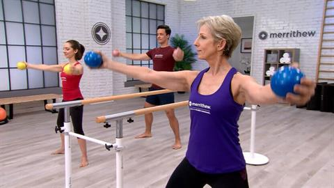 Total Barre workout challenge