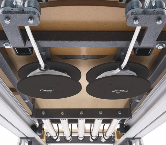 STOTT PILATES Professional Reformer Rope system