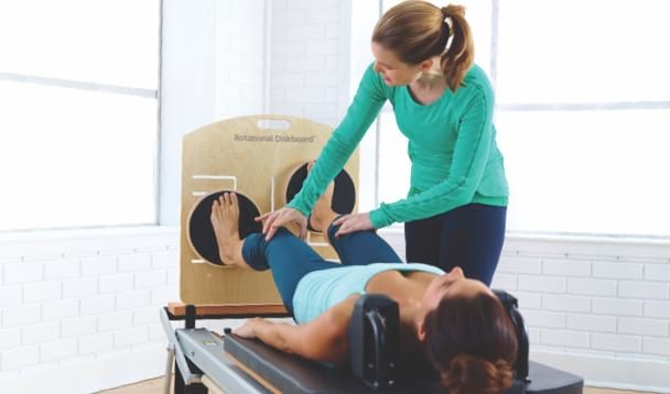 STOTT PILATES Reformer accessories for rehab and physio settings