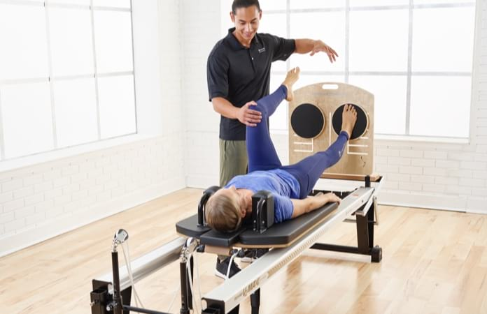 Pilates Reformer education for rehab and physio professionals