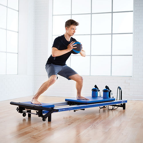 STOTT PILATES Reformer Package - Blue
