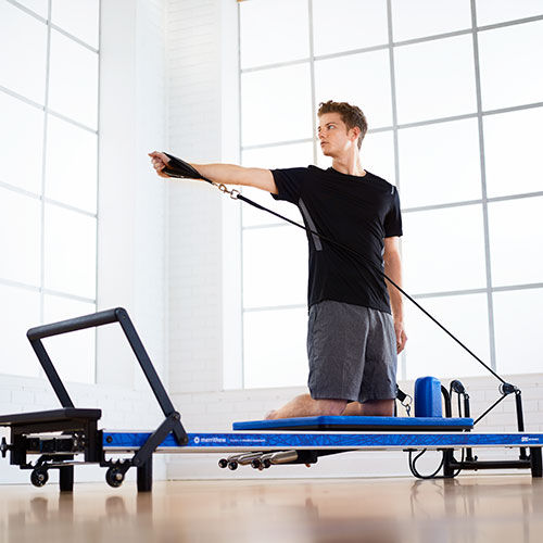 Home Pilates Reformer - Blue