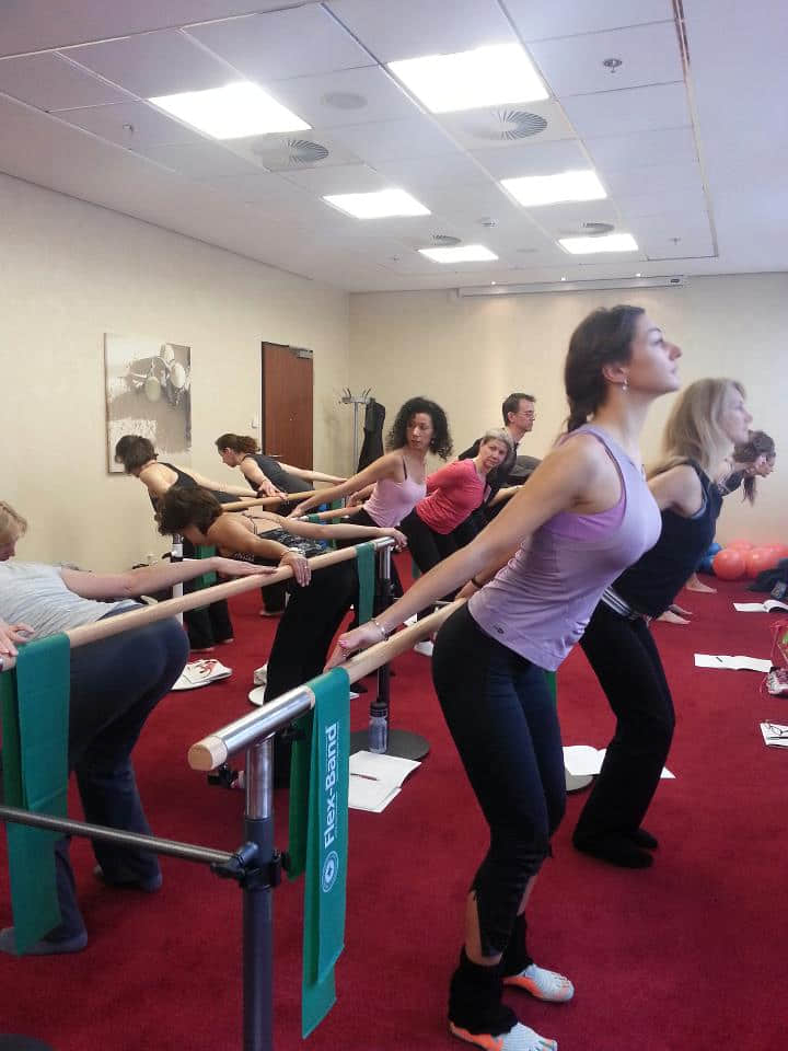 Total Barre Instructor Training Certification Education Merrithew