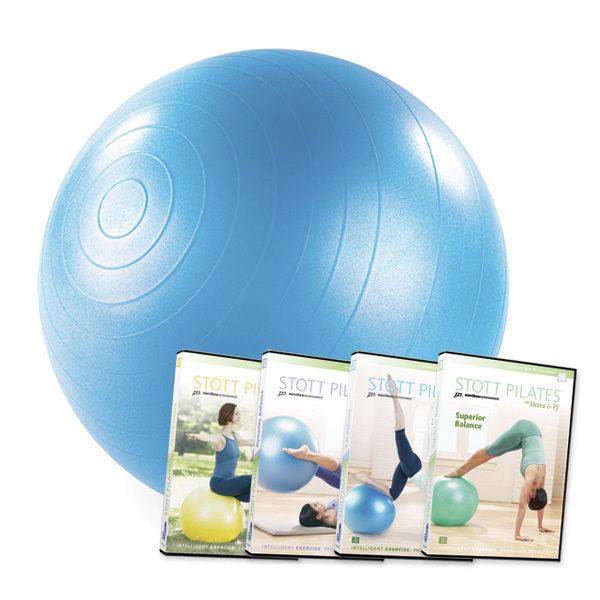 Balance Ball Dvd: Stability Ball™ 4-DVD Set - 55 Cm
