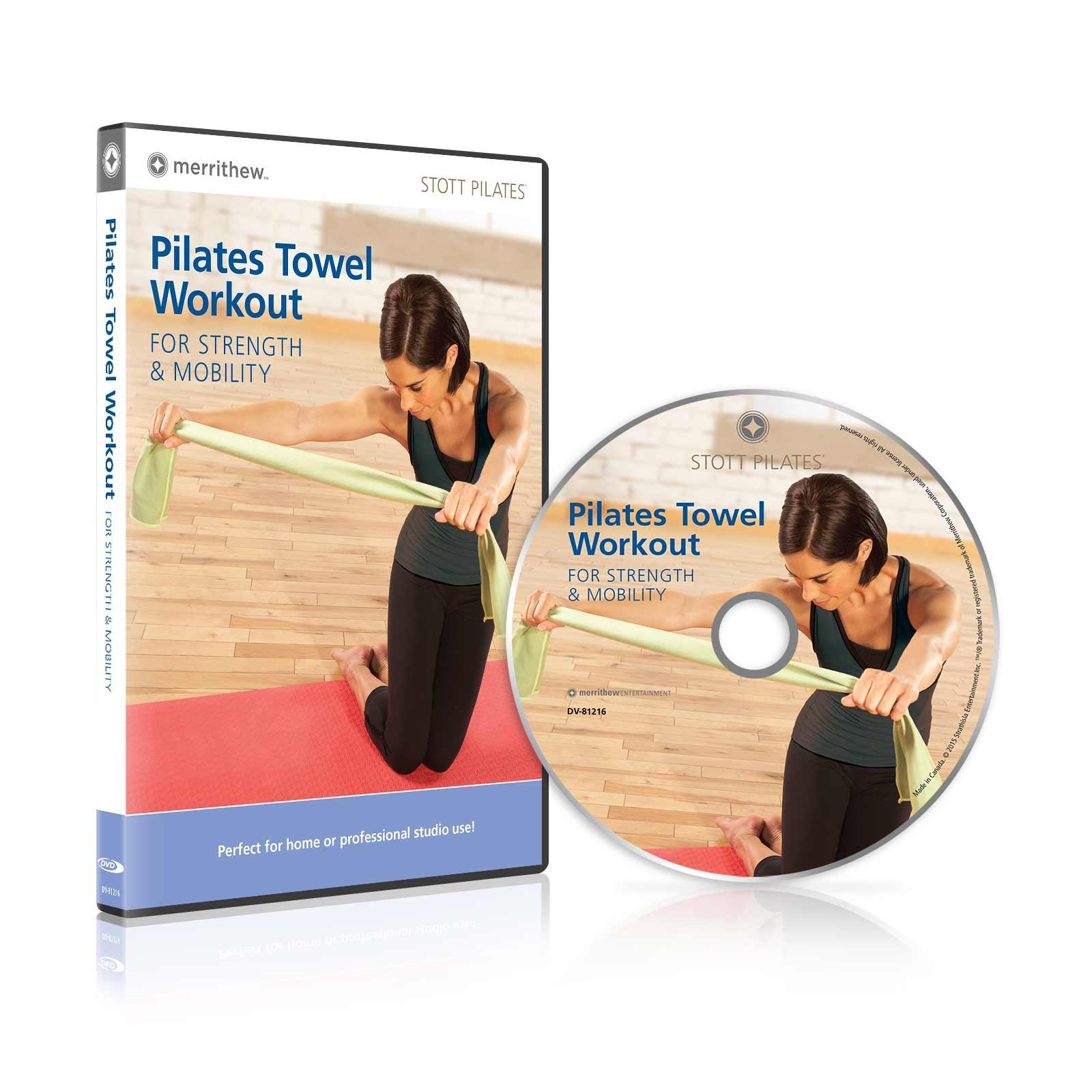 Body Workout With Towel: Pilates Towel Workout For Strength & Mobility