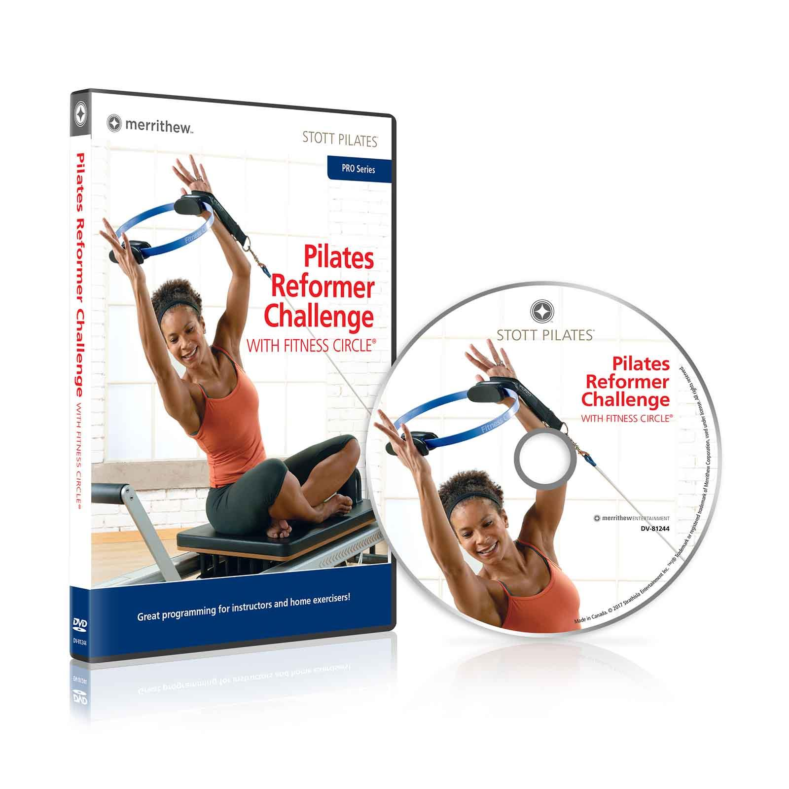 Dvd Pilates Reformer Challenge With Fitness Circle