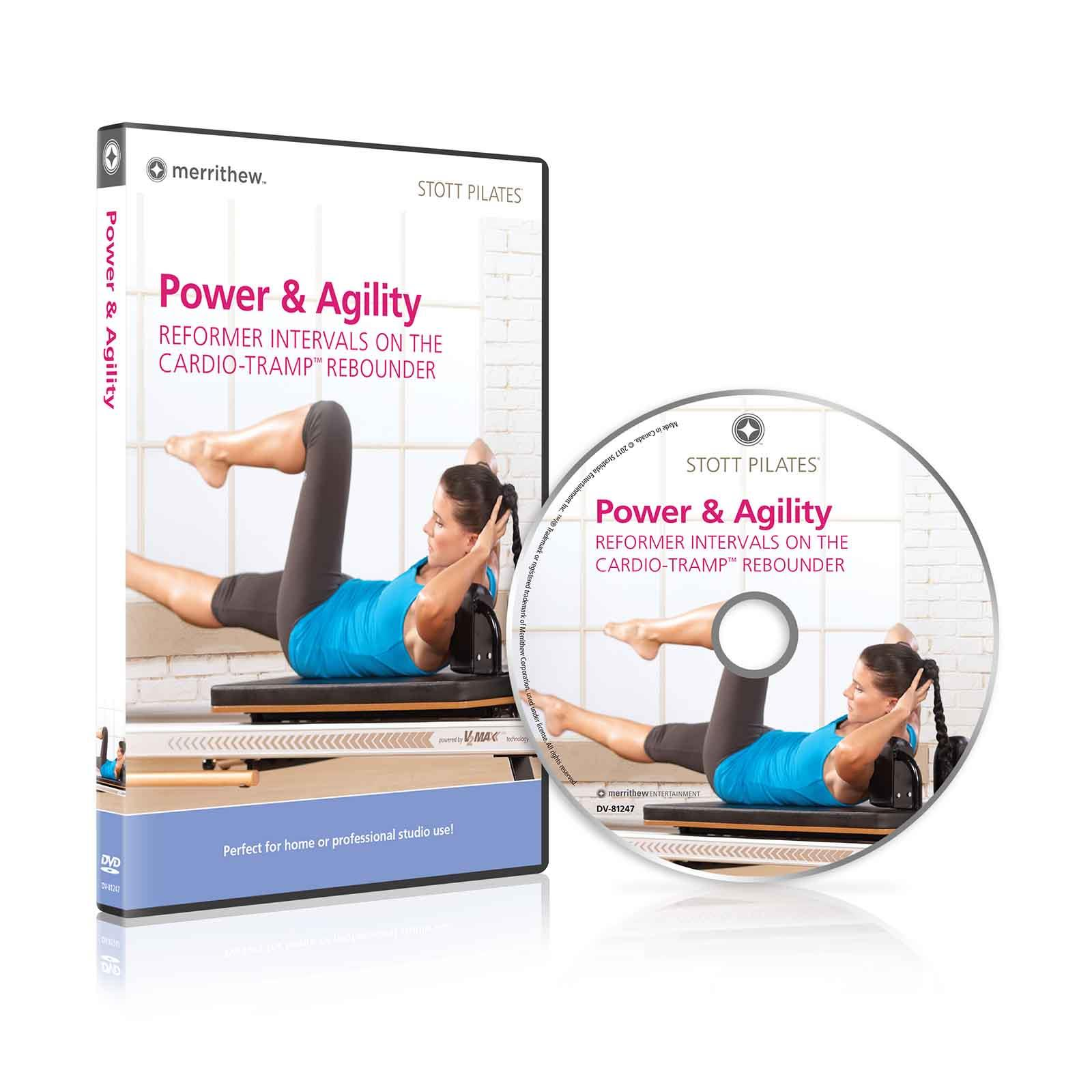Dvd Power Agility Reformer Intervals On The Cardio Tramp Rebounder